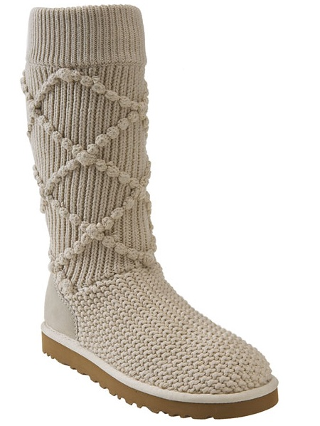 Classic Argyle Sweater Knit Boot $159.95