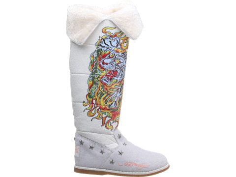 White Snowblazer Boots on Sale for $117