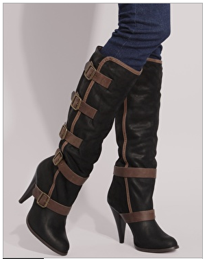 Gorgeous Buckle Boots from Bertie