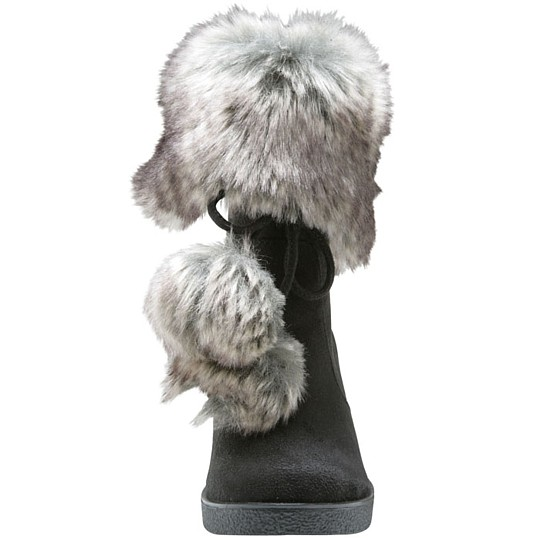 American Eagle Savvy Fur Wedge