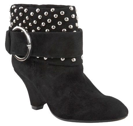 Jeffrey Campbell Studded Suede Booties