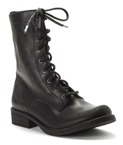 Mia lace up leather boot