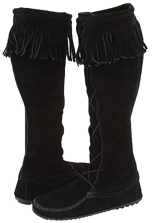 Minnetonka Moccasin Knee High Boots