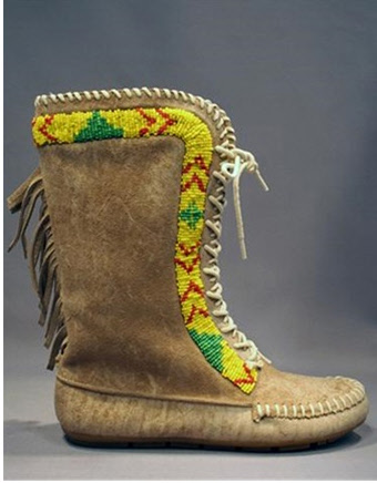 Fringe Moccasin Booties