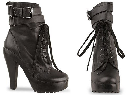 Jeffrey Campbell Boot Camp platform boots