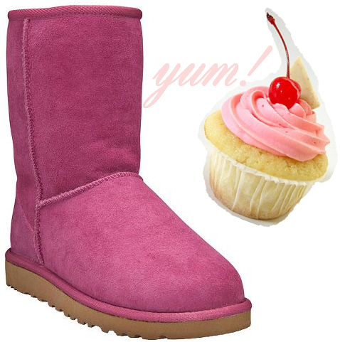 UGG Australia Classic Short in Raspberry