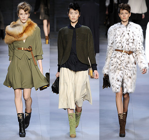 Fendi FW 2010 Collection