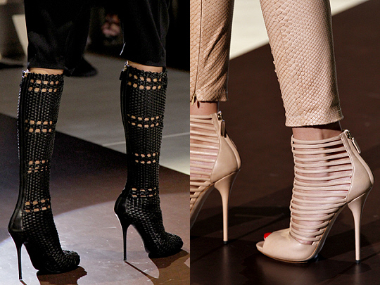 Gucci SS 2011 boots