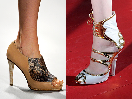 spring 2011 shoe trend