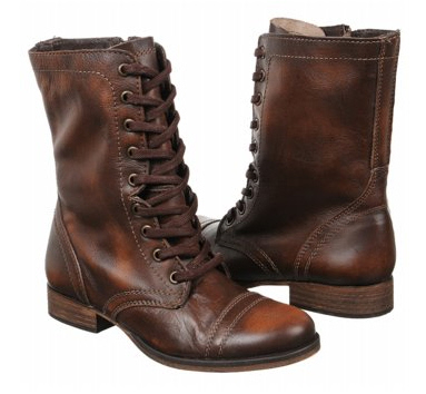 Steve Madden Troop Lace-Up Boots