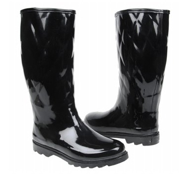 Dirty Laundry rain boots