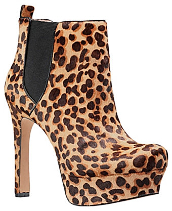Vince Camuto Bailey Leopard Ankle Boot