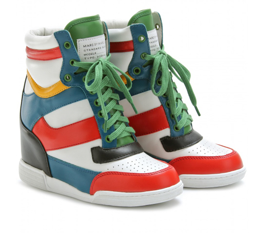 Marc Jacobs wedge sneakers