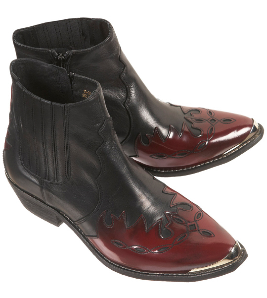 Arson Flame Western Boots