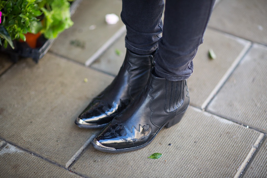 western boots street style