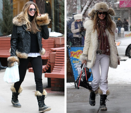 Snow Fashion Boots - Boot Hto