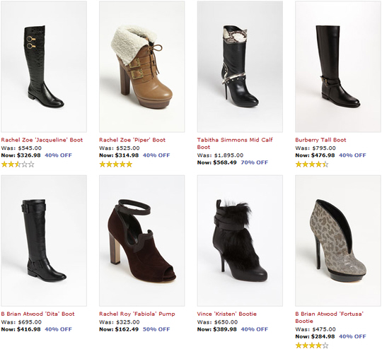 designer boots on clearance sale